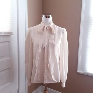 Vintage pussybow blouse
